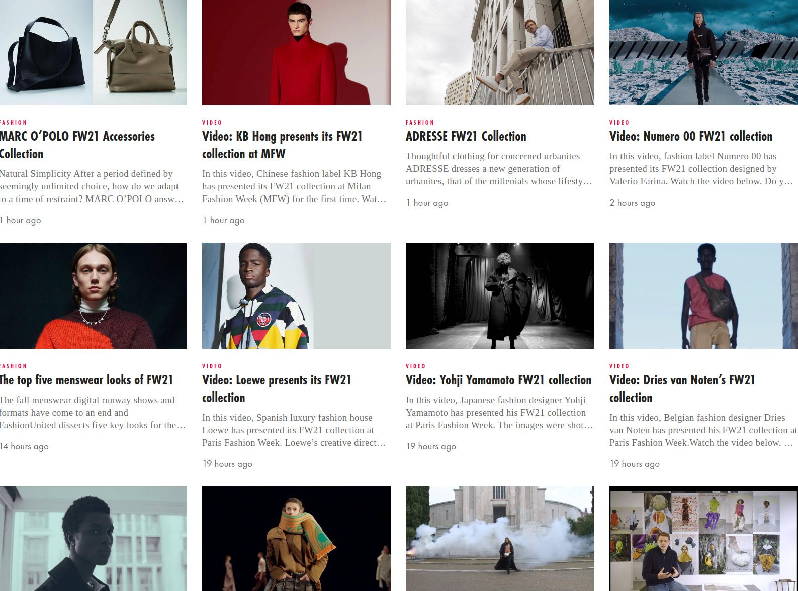 Alle Herfst/Winter 2021 modetrends en collecties